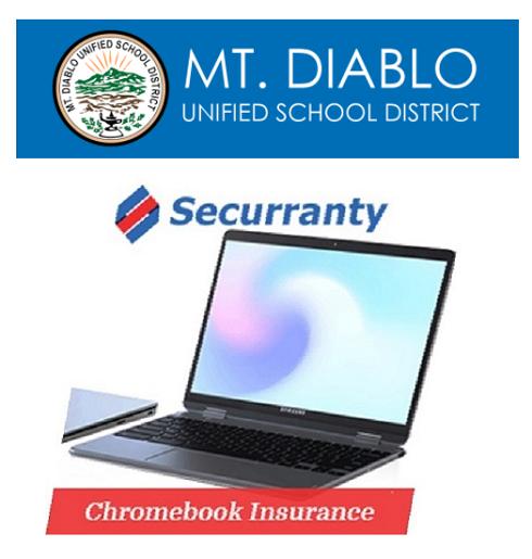 Mt. Diablo USD Chromebook Insurance