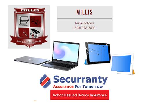 Millis Public Schools Device Insurance