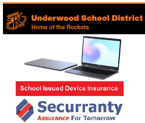 Underwood Public School Device Insurance